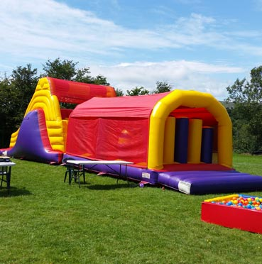 Big Obstacle Course for Hire in Carrigaline