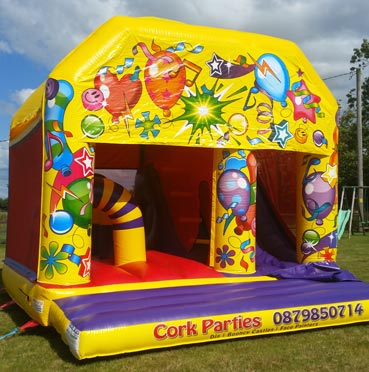 Bouncing Castle with Slide Carrigaline