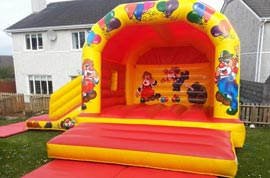 Bouncy Castle With Slide Carrigaline