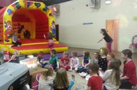 Bouncing Castle DJ and Face painter available for parties