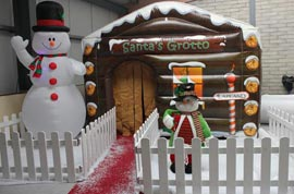 Inflatable Santa Grotto Hire Easct Cork